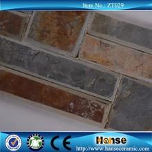 ZT029 home slate culture quartz stone molds decoration fireplace surround