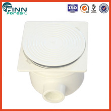 Model: EM2823 ABS white color waterproof pvc junction box 3/4'' connection junction box