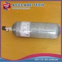 9L gas cylinder, aluminum liner cylinder, composite tank