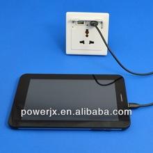 220v ac power socket female for mobile phone & Ipad
