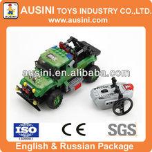 gree rc car education building block bricks construct toy