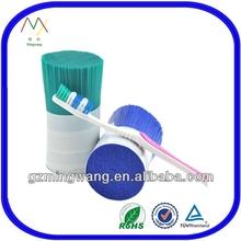 0.18mm Nylon 6.12 Rubber Bristle Toothbrush