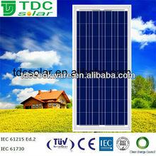 High quality 18v 100W poly solar panel