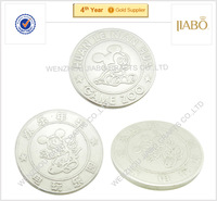 2015 years cheap price iron material custom design game tokens coins
