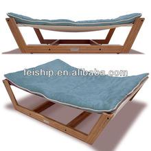 wholesale luxury bamboo dog hammock bed