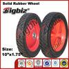 High quality wheelbarrow 10 inch rubber wheel ring