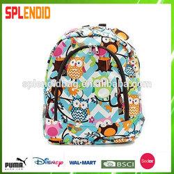 funny child school bag for children