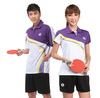 Custom digital sublimationtable tennis t shirts with dry fit and breathable function