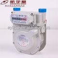 La compensación de temperatura clásica precisa fiable de aluminio caso de diafragma medidor de gas g2.5 mediados de calidad