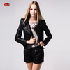Spring women clothing PU leather leisure coat