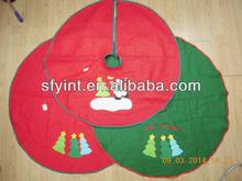 Non Woven Felt Christmas Tree Dress for Christmas Decoration