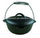 enamel cast iron camping dutch oven cookware