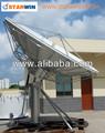 4.5m de comunicación por satélite antena