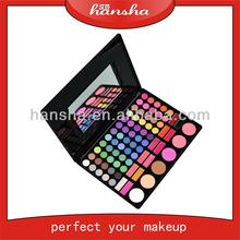 wholesale! Hansha new 78 Eyeshadow Palette with 12 colors lip gloss,makeup eyeshadow for sale