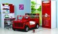 mais recente 2014 crianças jeep vermelho cama é feita por e1 mdf e pintura do ambiente