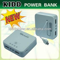 external mobile phone battery hot power bank 520mAh for April HK Electir Portable Power Bank for Cellphones
