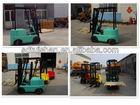 Narrow Aisle 4-Wheel Mini Electric Forklift Truck Pallet Truck A/C 0.5 Ton, 1.0 Ton