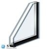 Top quality double insulated glass with aluminium spacer