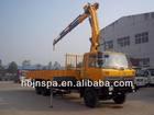 port good Dongfeng 5 booms 14 ton truck mounted crane