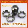 deep groove ball bearing 6701ZZ thin section bearing 6701