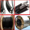 quadruplex service drop cable PVC insulated low voltage abc cable
