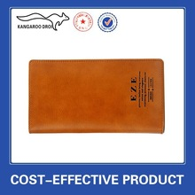 Leather manufacture product men business wallet China