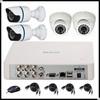 H 264 4CH DVR Kit,H.264 4ch dvr combo cctv camera kit