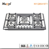 Glass top camping stove NY-QB5416T1/commercial kitchen gas stoves/italian stoves