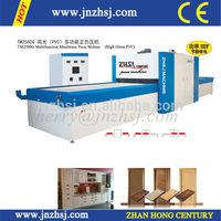 machine de placage high gloss panneaux mdf