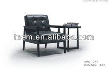 2014 Fashionable top sale modern furniture modern classic sofa D-67