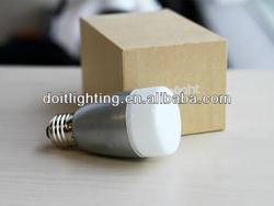 sound sensor lights controlled by bluetooth/wifi. led bulb 6W