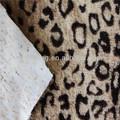 100% poliéster impresa 15mm de pelo largo de tela hometextile para tapicería