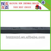 jacquard woven nylon fabric elastic waistband