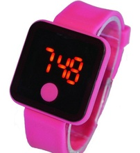 Silicone LED Watches,Custom LED Watch For Gift,Fashion LED Wristwatch