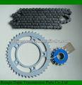 Pignon de chaîne en acier pour moto Dajin 1045 / pièces pour moto chaîne pignon de chaîne