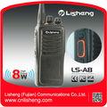 8 vatios de larga distancia de gran tamaño ls-a8 manos libres de comunicación inalámbrica