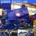 Alto desempenho de resíduos de plástico de garrafa pet reciclagem máquina/garrafa pet reciclagem de plantas/garrafa pet reciclagem de linha