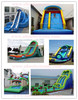 IC cheap inflatable water slides for sale for outdoor playground