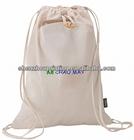 2014 Green China Manufacturer rNew Style 100% Cotton Custom Logo Shoulder Tote Bag Drawstring Cotton Shopping Bag