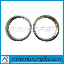 plastic or aluminum hub centric rings
