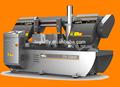 loginfly marca de alta calidad y el paramétro del ce 330mm automático del cnc de corte de metal sierra de banda