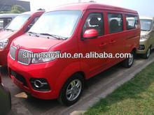 1.3L gasoline passenger van super van, delivery car,mini van,micro van