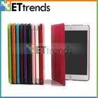 For iPad Mobile Phone Cover! Smart Tri-Fold Wake/Sleep Voltage Ultra-thin Leather Mobile Phone Cover for iPad Mini 2