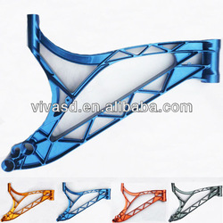 Custom-made bicycle frame