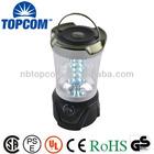 Portable compass 30 led ultra bright camping lantern