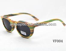 custom design bamboo sunglasses with CE standard