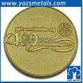 moneda de oro diseñado para personalizada