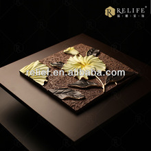 wall art handmade 3d relief painting for modern paintings of buddha