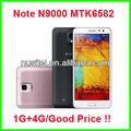 İyi yıldızı 5.7 inç n9000 not mtk6582 dört çekirdekli kalemle cep telefonu fiyat Tayland, dubai, blueberry cep telefonu