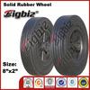Lawnmower rubber wheel, 4 inch rubber steering wheel